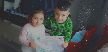 Dina y Badr 3 i 6 anys Figueres