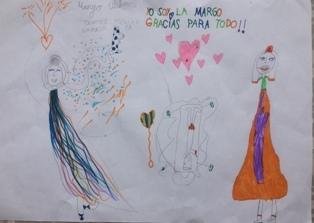Margo Ulibarri, 6 anys, Roses