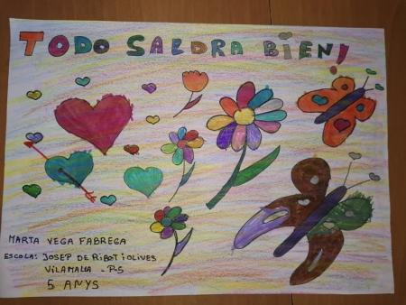 Marta Vega, 5 anys, Vilamalla