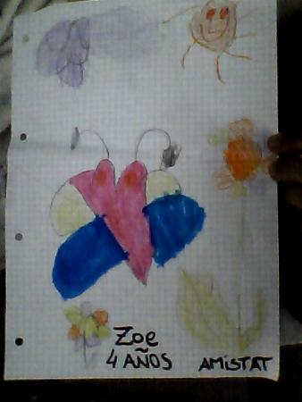 Zoe, 4 anys, Figueres