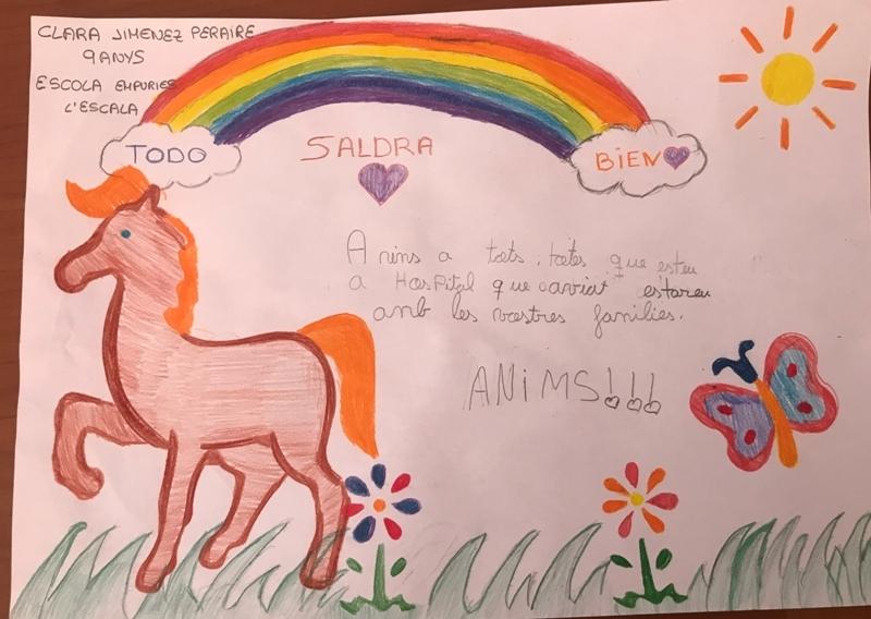 Clara Jiménez, 9 anys, l'Escala