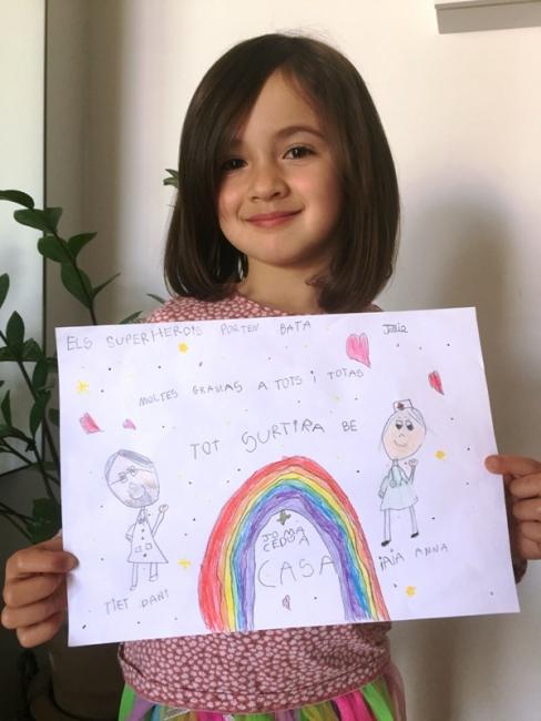 Júlia Sánchez, 5 anys, Sabadell