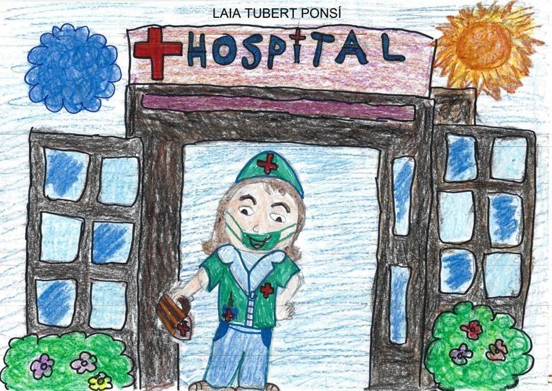 Laia Tubert, 9 anys, Borrassà