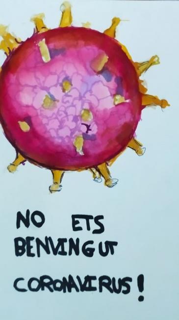 No ets benvingut coronavirus