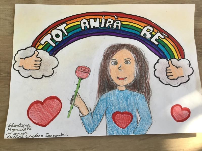 Valentina Moradell, 11 anys, Centre Escolar Empordà